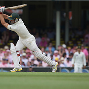 Mitchell Johnson is bowled by Danish Kaneria during the Australia V Pakistan 2nd Cricket Test match at the Sydney Cricket Ground, Sydney, Australia, 5 January 2010. Photo Tim Clayton
