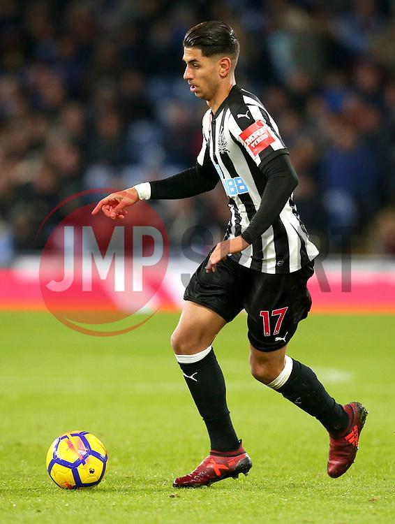 Ayoze Perez of Newcastle United - Mandatory by-line: Robbie Stephenson/JMP - 30/10/2017 - FOOTBALL - Turf Moor - Burnley, England - Burnley v Newcastle United - Premier League