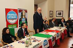 20130202 CONFERENZA STAMPA CANDIDATI FRATELLI D'ITALIA CON GUIDO CROSETTO