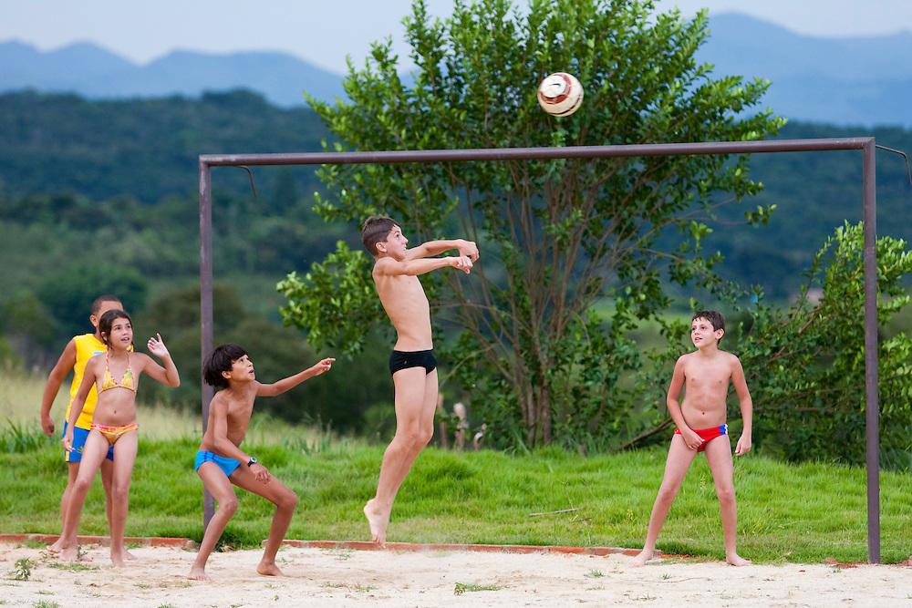 Sao Bras do Suacui_MG, Brasil...Campo de futebol na comunidade rural da Lajinha, Minas Gerais...The soccer field in the Lajinha rural community, Minas Gerais...Foto: JOAO MARCOS ROSA / NITRO