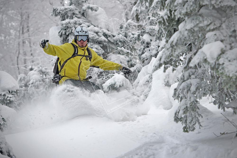 Snowboarding - Freeride