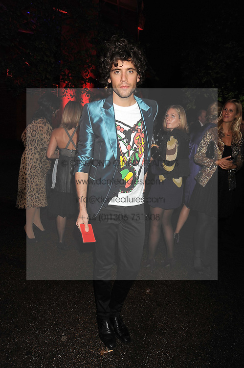 MIKA at the annual Serpentine Gallery Summer Party in Kensington Gardens, London on 9th September 2008.