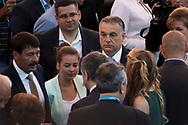 Opening Ceremony<br /> 14/07/2017 <br /> XVII FINA World Championships Aquatics<br /> Duna Arena<br /> Photo @ Giorgio Perottino/Deepbluemedia/Insidefoto