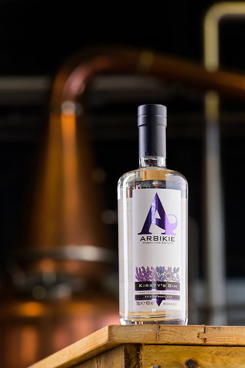 Arbikie gin, Angus, Scotland