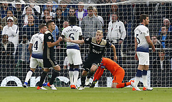 April 30, 2019 - London, England, United Kingdom - Donny van de Beek  of Ajax celebrate his goal.during UEFA Championship League Semi- Final 1st Leg between Tottenham Hotspur  and Ajax at Tottenham Hotspur Stadium , London, UK on 30 Apr 2019. (Credit Image: © Action Foto Sport/NurPhoto via ZUMA Press)