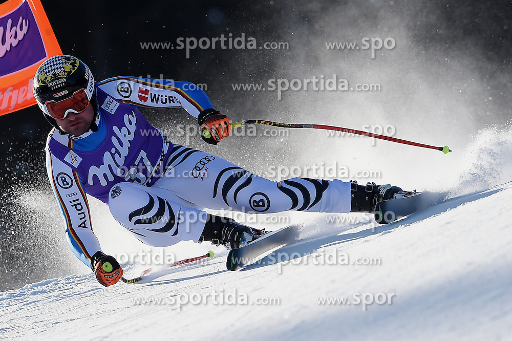 12.03.2016, Olympiabakken, Kvitfjell, NOR, FIS Weltcup Ski Alpin, Kvitfjell, Abfahrt, Herren, im Bild Klaus Brandner (GER) // Klaus Brandner of Germany competes during his run for the men's Downhill of Kvitfjell FIS Ski Alpine World Cup at the Olympiabakken in Kvitfjell, Norway on 2016/03/12. EXPA Pictures © 2016, PhotoCredit: EXPA/ Jonas Ericsson