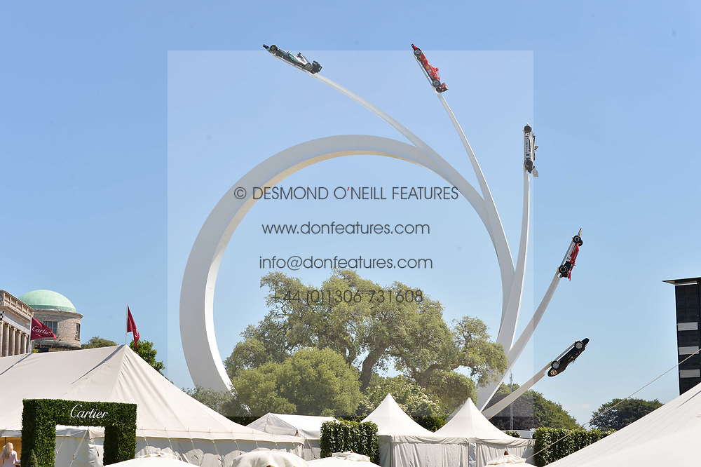 Atmosphere at the Cartier Style et Luxe at the Goodwood Festival of Speed, Goodwood, West Sussex, England. 2 July 2017.<br /> Photo by Dominic O'Neill/SilverHub 0203 174 1069 sales@silverhubmedia.com