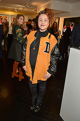 JAIME WINSTONE at a party to celebrate the launch of the Maddox Gallery at 9 Maddox Street, London on 3rd December 2015.