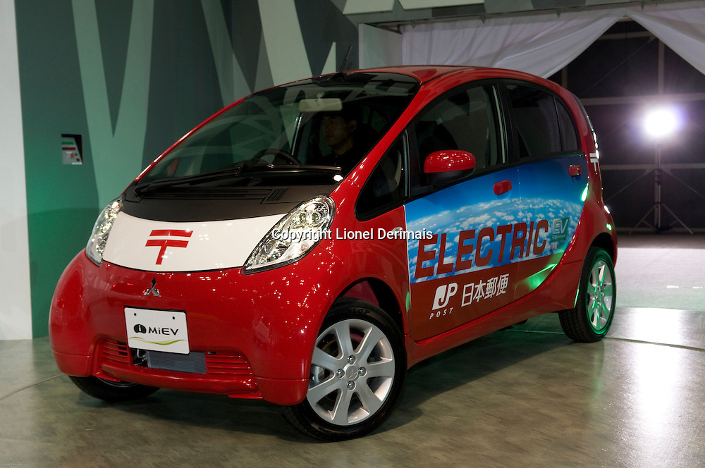 Mitsubishi MIEV electric car at the October 2009 Tokyo motorshow.