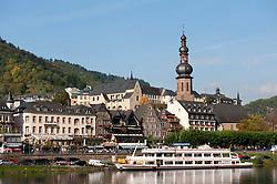 Cochem on Mosel River in Rheinland-Palatinate Germany