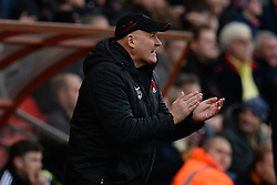 Orient's Manager Russell Slade - Photo mandatory by-line: Mitchell Gunn/JMP - Tel: Mobile: 07966 386802 22/02/2014 - SPORT - FOOTBALL - Brisbane Road - Leyton - Leyton Orient V Swindon Town - League One