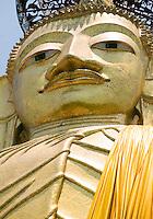 Standing Buddha Wat Intharawihan Bangkok Thailand&#xA;<br />