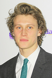 © Licensed to London News Pictures. 02/02/2014, UK. George MacKay, London Critics Circle Film Awards, May Fair Hotel, London UK, 02 February 2014. Photo credit : Richard Goldschmidt/Piqtured/LNP