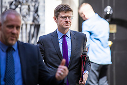 © Licensed to London News Pictures. 10/05/2018. London, UK. Secretary of State for Business, Energy and Industrial Strategy Greg Clark on Downing Street. Photo credit: Rob Pinney/LNP