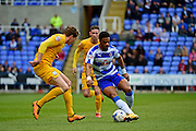 Reading midfielder Garath McCleary (12) during the Championship match between Reading and Preston North End at the Madejski Stadium, Reading, England on 30 April 2016. Photo by Jon Bromley.