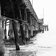 A Newport Beach pier