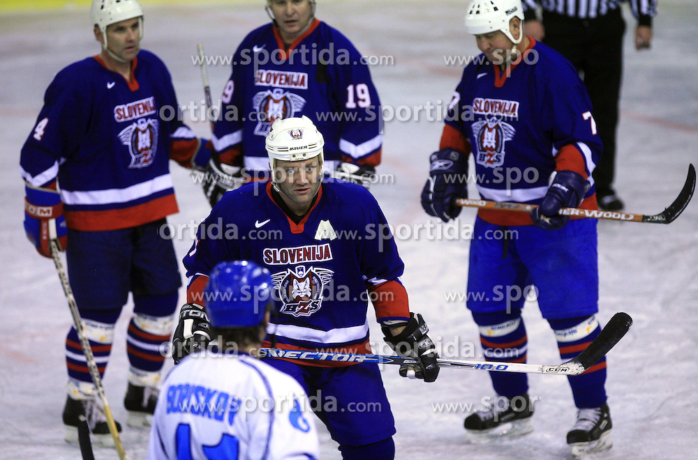 Rok Rojsek at friendly ice-hockey game Slovenia Oldies vs Gazprom Export (Russia), on October 24, 2008 in Hala Tivoli, Ljubljana, Slovenia. Gazprom Export won 6:3.(Photo by Vid Ponikvar / Sportal Images)