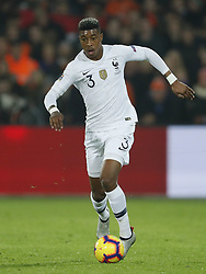 Presnel Kimpembe of France during the UEFA Nations League A group 1 qualifying match between The Netherlands and France at stadium De Kuip on November 16, 2018 in Rotterdam, The Netherlands