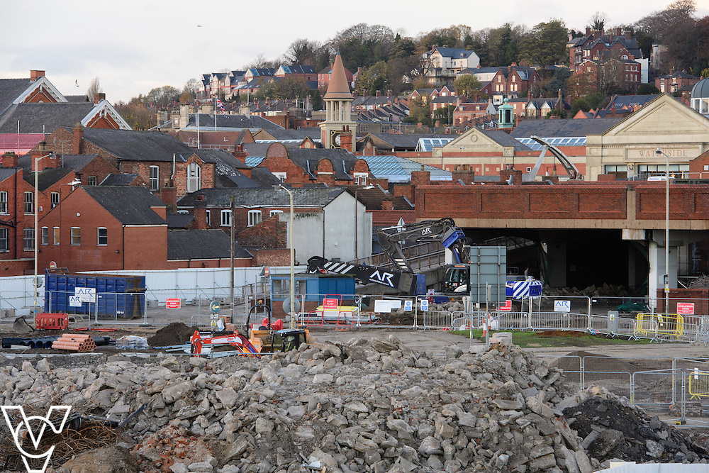 THE CHANGING FACE OF LINCOLN: Development work is continuing on the Lincoln Transport Hub which will provide a state-of-the-art bus station, 1,000 space multi-storey car park, retail space and a new pedestrian plaza<br /> <br /> Picture: Chris Vaughan Photography<br /> Date: November 18, 2016