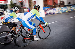 LAVRIČ Martin (SLO) of Slovenian National Team and POLANC Jan (SLO) of Slovenian National Team during the UCI Class 1.2 professional race 4th Grand Prix Izola, on February 26, 2017 in Izola / Isola, Slovenia. Photo by Vid Ponikvar / Sportida