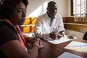 Ayiti, mission CECI - Centre d'étude et de coopération internationale, 2017. Bureau de Port-au-Prince