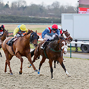 Roy's Legacy and Adam Kirby winning the 12.50 race