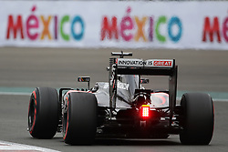 Jenson Button (GBR) McLaren MP4-31.<br /> 28.10.2016. Formula 1 World Championship, Rd 19, Mexican Grand Prix, Mexico City, Mexico, Practice Day.<br />  Copyright: Bearne / XPB Images / action press