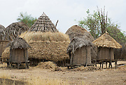 Africa, Ethiopia, Omo Valley, Karo village