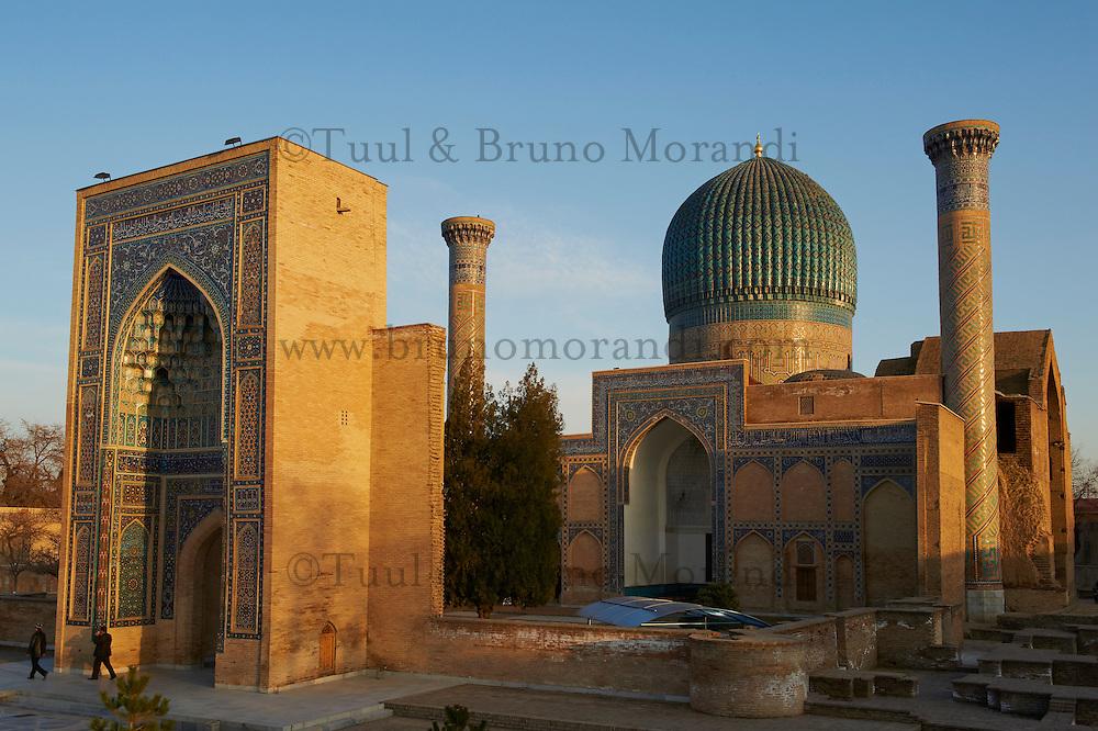 Ouzbekistan, Samarkand, classe patrimoine mondial de l Unesco, Mausolee Gour Emir, (tombe de Tamerlan) // Uzbekistan, Samarkand, Unesco World Heriatge, Gour Emir mausoleum (Timur tomb)