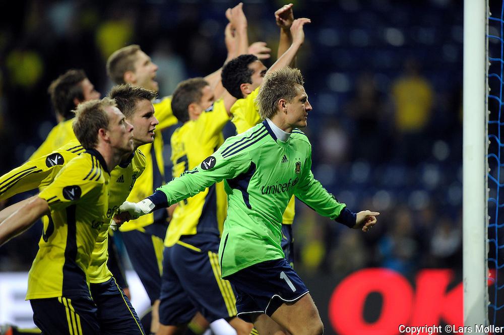DK Caption:<br /> 20110911, Br&oslash;ndby, Danmark:<br /> Superliga fodbold, Br&oslash;ndby - HB K&oslash;ge:<br /> Br&oslash;ndby vinder 5-0<br /> Foto: Lars M&oslash;ller<br /> <br /> UK Caption:<br /> 20110911, Brondby, Denmark:<br /> Superleague football  Brondby - HB K&oslash;ge:<br /> Br&oslash;ndby vinder 5-0<br /> Photo: Lars Moeller
