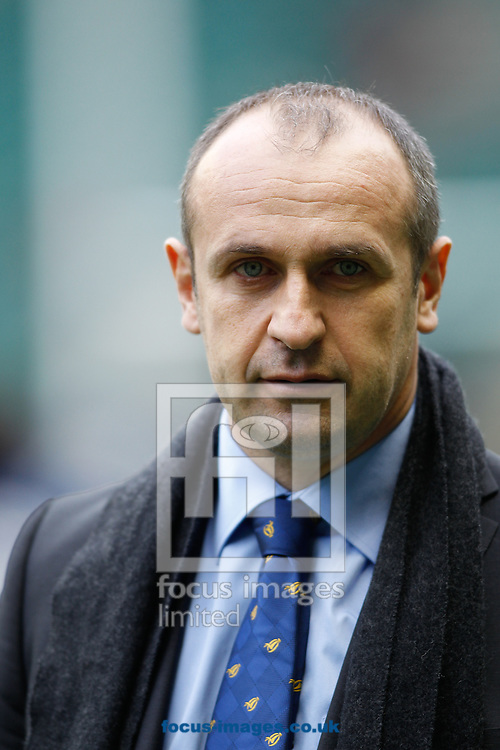 Picture by Andrew Tobin/Focus Images Ltd +44 7710 761829.23/02/2013. France head coach Philippe Saint-Andre looks on during the RBS 6 Nations match at Twickenham Stadium, Twickenham.
