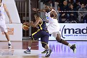 DESCRIZIONE : Campionato 2013/14 Acea Virtus Roma - Sutor Montegranaro<br /> GIOCATORE : Josh Mayo<br /> CATEGORIA : Palleggio Penetrazione Controcampo<br /> SQUADRA : Sutor Montegranaro<br /> EVENTO : LegaBasket Serie A Beko 2013/2014<br /> GARA : Acea Virtus Roma - Sutor Montegranaro<br /> DATA : 18/01/2014<br /> SPORT : Pallacanestro <br /> AUTORE : Agenzia Ciamillo-Castoria / GiulioCiamillo<br /> Galleria : LegaBasket Serie A Beko 2013/2014<br /> Fotonotizia : Campionato 2013/14 Acea Virtus Roma - Sutor Montegranaro<br /> Predefinita :