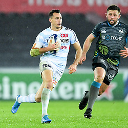 Juan Imhoff of Racing 92 during the European Rugby Challenge Cup, Pool 4 match between Ospreys and Racing 92 on December 7, 2019 in Bristol, United Kingdom. (Photo by Paul Lockyer / Icon Sport) - Liberty Stadium - Swansea (Pays de Galles) - Liberty Stadium - Swansea (Pays de Galles)