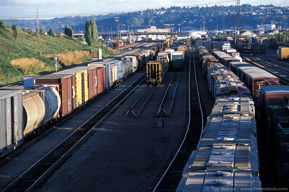 Rail Yard, Seattle.