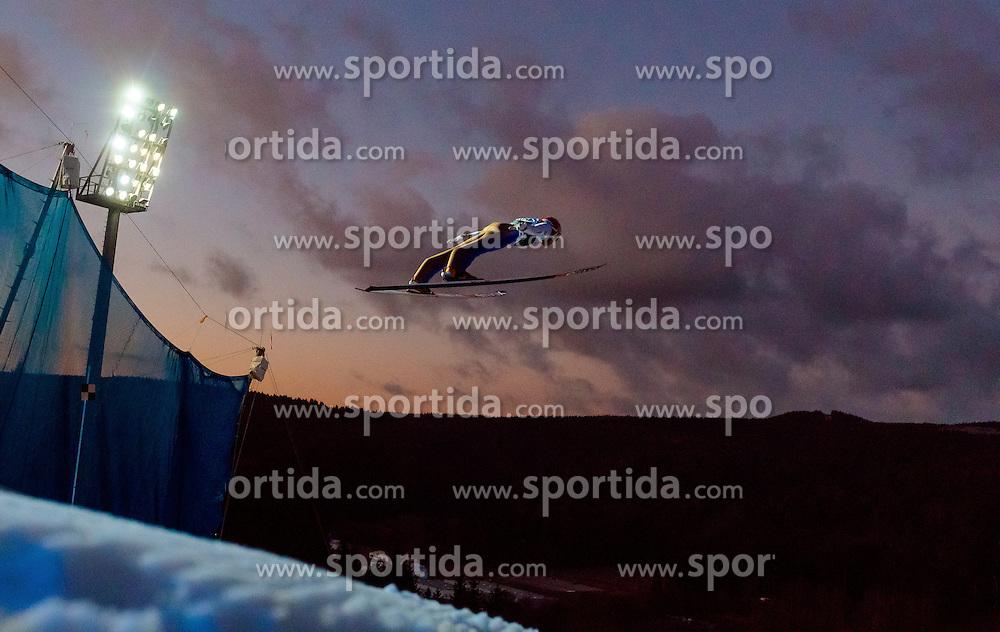 02.12.2016, Vogtland Arena, Klingenthal, GER, FIS Weltcup Ski Sprung, Klingenthal, im Bild Ryoyu Kobayashi (JPN) // Ryoyu  Kobayashi of Japan during the mens FIS Skijumping World Cup at the Vogtland Arena in Klingenthal, Germany on 2016/12/02. EXPA Pictures © 2016, PhotoCredit: EXPA/ JFK