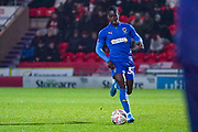 AFC Wimbledon defender Paul Osew (37) during the The FA Cup match between Doncaster Rovers and AFC Wimbledon at the Keepmoat Stadium, Doncaster, England on 19 November 2019.