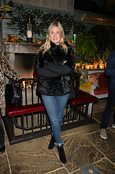 Marissa Montgomery at The Ivy Chelsea Garden's Guy Fawkes Party, 197 King's Road, London, England. 05 November 2017.