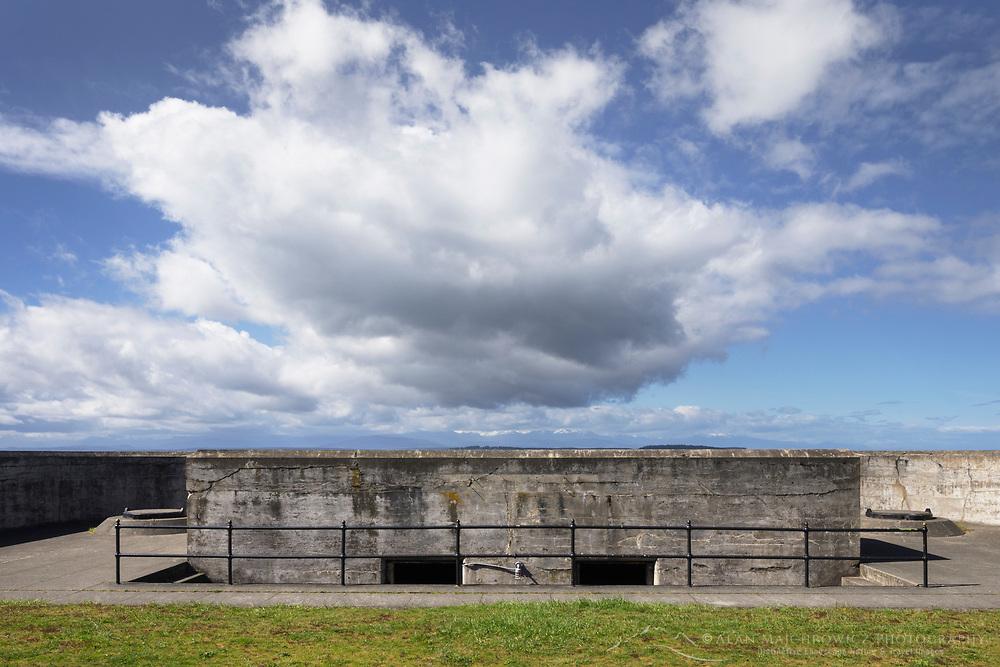 Battery Turman, Fort Casey State Park, Whidbey Island, Washington.