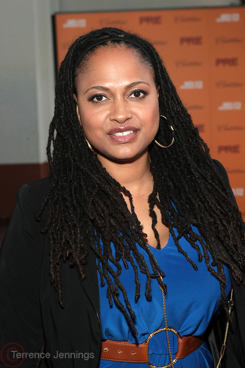 June 30, 2012-Los Angeles, CA : Director Ava DuVernay attends the 2012 BET Pre-Awards Reception held at Union Station on June 30, 2012 in Los Angeles, California. The BET Awards were established in 2001 by the Black Entertainment Television network to celebrate African Americans and other minorities in music, acting, sports, and other fields of entertainment over the past year. The awards are presented annually, and they are broadcast live on BET. (Photo by Terrence Jennings)