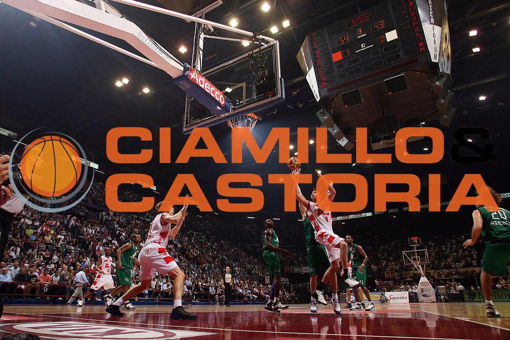 DESCRIZIONE : Milano Lega A1 2007-08 Playoff Semifinale Gara 2 Armani Jeans Milano Montepaschi Siena <br /> GIOCATORE : Danilo Gallinari<br /> SQUADRA : Armani Jeans Milano<br /> EVENTO : Campionato Lega A1 2007-2008 <br /> GARA : Armani Jeans Milano Montepaschi Siena<br /> DATA : 24/05/2008 <br /> CATEGORIA : Tiro<br /> SPORT : Pallacanestro <br /> AUTORE : Agenzia Ciamillo-Castoria/M.Marchi