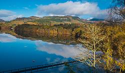Loch Fiskally Autumnal Reflections.<br /> Neil Bain   EEm 4th November 2017