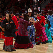 28 November 2016: The San Diego State Aztecs men's basketball team plays host to the Savannah State Tigers monday night at Viejas Arena.  The Aztecs lead 60-32 at halftime. www.sdsuaztecphotos.com
