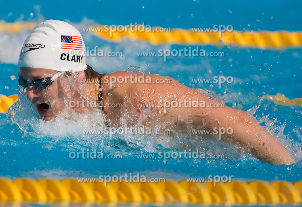 Scott Tyler Clary of USA competes in the Men's 200m Butterfly Heats during the 13th FINA World Championships Roma 2009, on July 28, 2009, at the Stadio del Nuoto,  in Foro Italico, Rome, Italy. (Photo by Vid Ponikvar / Sportida)