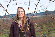 Morgan Hall, assistant wine grower and wine maker. <br />