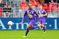 Cedric KANTE  - 20.12.2014 - Brest / Ajaccio - 18eme journee de Ligue 2 -<br /> Photo : Vincent Michel / Icon Sport
