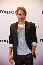 Eric Nelsen Arriving for the opening ceremony of the MIPCOM in Cannes - Marche international des contenus audiovisuels du 16-19 Octobre 2017, Palais des Festivals, Cannes, France.<br />