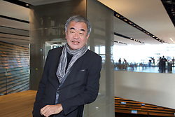 Kengo Kuma, architect of the V&A Dundee at the media launch in the city. pic copyright Terry Murden @edinburghelitemedia