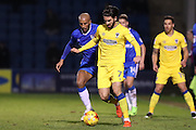 AFC Wimbledon defender George Francomb (7) during the EFL Sky Bet League 1 match between Gillingham and AFC Wimbledon at the MEMS Priestfield Stadium, Gillingham, England on 21 February 2017.