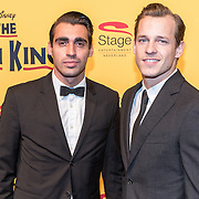 NLD/Scheveningen/20161030 - Premiere musical The Lion King, Joey Ferre en ........