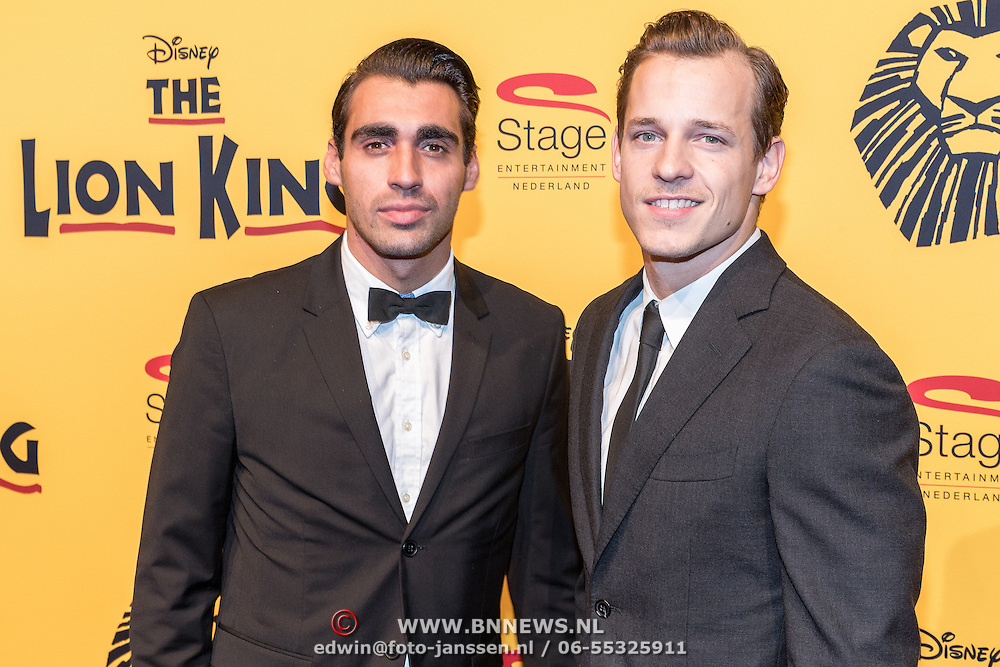 NLD/Scheveningen/20161030 - Premiere musical The Lion King, Joey Ferre en ........